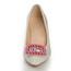 Kitten Heel Wedding Shoes Patent Leather Pointed Toe Average Honeymoon Girls'