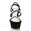 Sandals Wedges Dress Girls' Imitation Pearl Average Wedge Heel