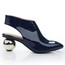 Closed Toe Wedding Shoes Patent Leather Abnormal/Fantasy Heels Outdoor Booties/Ankle Boots Average