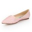 Wedding Flats Genuine Leather Average Girls' Flat Heel Pointed Toe