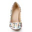 Party & Evening Wedding Shoes Girls' Cone Heel Patent Leather Average Rivet