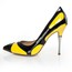 Patent Leather Pumps/Heels Chain Average Daily Women's Cone Heel