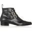 Booties/Ankle Boots Wedding Shoes Zipper Outdoor Genuine Leather Boots Average