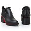 Chunky Heel Boots Pointed Toe Booties/Ankle Boots Girls' Average Genuine Leather