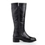 Women's Wedding Shoes Knee High Boots Low Heel Genuine Leather Average Buckle