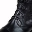 Low Heel Flats Graduation Average Knee High Boots Women's Lace-Up