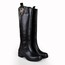Women's Flats Knee High Boots Average Honeymoon Flat Heel Riding Boots