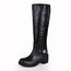 Girls' Boots Office & Career Average Flat Heel Genuine Leather Chain