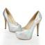 Girls' Wedding Shoes Average Patent Leather Graduation Closed Toe Stiletto Heel