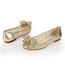 Average Wedding Shoes Hollow-Out Women's Pointed Toe Genuine Leather Outdoor