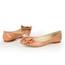 Bowknot Flats Honeymoon Patent Leather Women's Flat Heel Pointed Toe