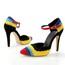 Pumps/Heels Wedding Shoes Swede Leather Split Joint Stiletto Heel Average Party & Evening