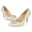 Dress Pumps/Heels Girls' Average Pointed Toe Patent Leather Kitten Heel