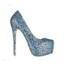 Pumps/Heels Wedding Shoes Cone Heel Rhinestone Office & Career Genuine Leather Average