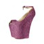 Abnormal/Fantasy Heels Pumps/Heels Sheepskin Rhinestone Women's Party & Evening Average