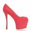 Women's Wedding Shoes Spool Heel Swede Leather Open Toe Wedding Average