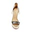 Plastics Sandals Cone Heel Zipper Women's Graduation Average