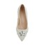 Pumps/Heels Wedding Shoes Average Imitation Pearl Patent Leather Kitten Heel Wedding