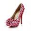 Rhinestone Wedding Shoes Stiletto Heel Party & Evening Round Toe Average Patent Leather