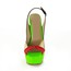 Abnormal/Fantasy Heels Sandals Dress Open Toe Average Patent Leather Women's