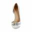 Satin Wedding Shoes Pumps/Heels Stiletto Heel Party & Evening Girls' Rhinestone