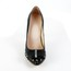 Dress Wedding Shoes Pointed Toe Medium Stiletto Heel Girls' Genuine Leather