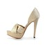 Wedding Pumps/Heels Stiletto Heel Average Women's D'Orsay & Two-Piece Satin