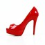 Average Sandals Women's Patent Leather Sandals Party & Evening Stiletto Heel