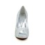 Graduation Wedding Shoes Abnormal/Fantasy Heels Average Rhinestone Round Toe Flock
