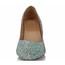 Average Pumps/Heels Pointed Toe Honeymoon Girls' Sheepskin Kitten Heel