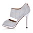 Women's Platforms Average Sparkling Glitter Stiletto Heel Sequined Cloth/Sparkling Glitter Sandals