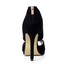 Zipper Sandals Party & Evening Women's Stiletto Heel Stretch Velvet Average