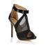 Stretch Fabric Platforms Dress Hollow-Out Girls' Stiletto Heel Average