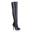 Girls' Boots PU Zipper Wedding Boots Stiletto Heel