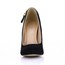 Average Wedding Shoes PU Stiletto Heel Girls' Buckle Pumps/Heels