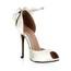 Round Toe Dance Shoes Average Wedding Stiletto Heel Silk Like Satin Girls'