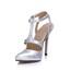 Women's Wedding Shoes Party & Evening Pumps/Heels PU Stiletto Heel Buckle