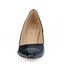 Wedge Heel Wedding Shoes Closed Toe Honeymoon Opalescent Lacquers Girls' Average