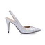 Kitten Heel Pumps/Heels Closed Toe Sparkling Glitter Narrow Women's Graduation