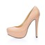 Closed Toe Pumps/Heels Girls' Extra Wide Stiletto Heel Dress PU
