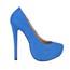 Wedding Platforms Women's Wide Stretch Fabric Closed Toe Stiletto Heel