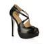 Girls' Platforms D'Orsay & Two-Piece Wide PU Stiletto Heel Graduation