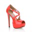 Extra Wide Pumps/Heels Sandals Party & Evening Opalescent Lacquers Stiletto Heel Women's