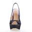 Silk Like Satin Wedding Shoes Wide Stiletto Heel Dress Ruched Women's