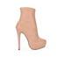 PU Boots Women's Booties/Ankle Boots Wide Pumps/Heels Stiletto Heel
