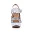 Stiletto Heel Sandals Sequined Cloth/Sparkling Glitter Graduation Girls' Sparkling Glitter Peep Toe