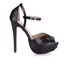 Sequined Cloth/Sparkling Glitter Platforms Narrow Round Toe Stiletto Heel Sparkling Glitter Party & Evening