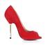 Stiletto Heel Pumps/Heels Peep Toe Girls' Stretch Velvet Dress Average