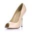PU Pumps/Heels Round Toe Average Party & Evening Stiletto Heel Girls'