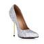 Stiletto Heel Wedding Shoes Average Sparkling Glitter Women's Daily Pumps/Heels